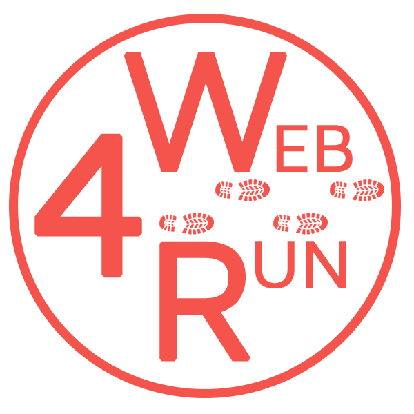 logo web4run soluiton internet évènements running