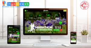 site internet Marathon Var Provence Verte pack argent Web4Run by Ingenieweb